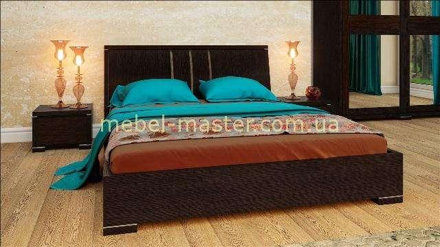 Спальня Амина из массива в цвете темный орех. ТМ Бучинский