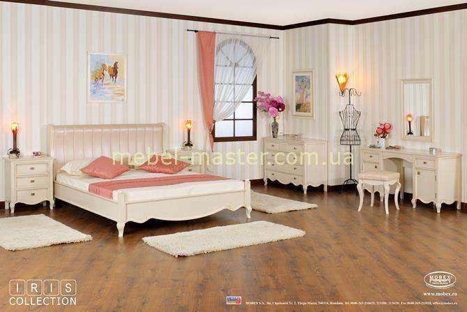Белый мебельный гарнитур для спальни Ирис, Румыния