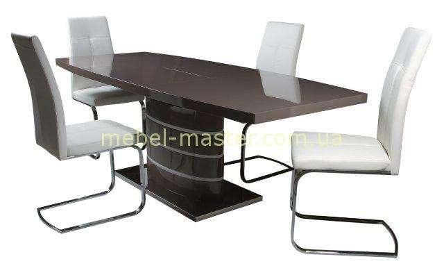 Серый раздвижной стол обеденный Detroit ( Детройт) DT-9185