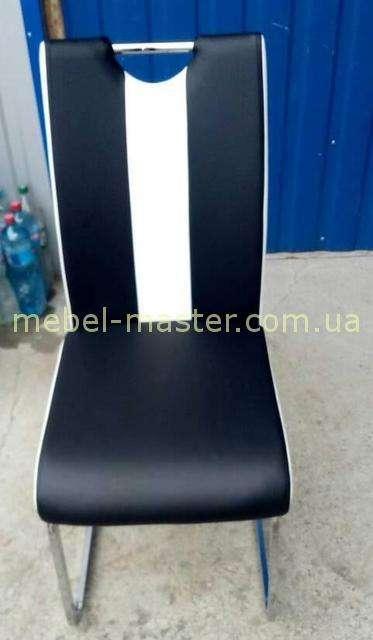 Черно-белый стул Орландо  DS - 1007-1 в стиле модерн, Евродом