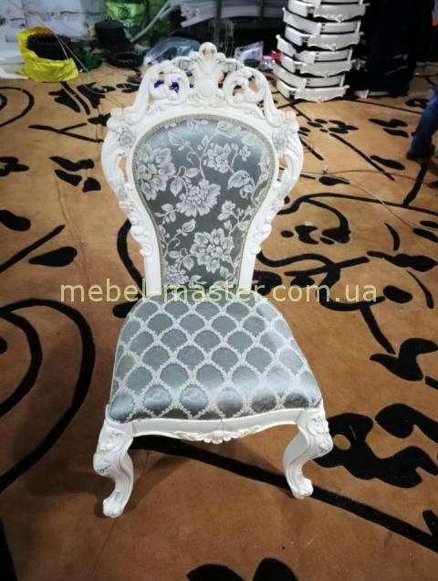 Классический кремовый стул Элиза 8833 с короной