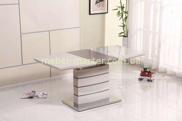 Модерновый обеденный стол Хьюстон (Houston) DT-9123-1 в цвете мокко
