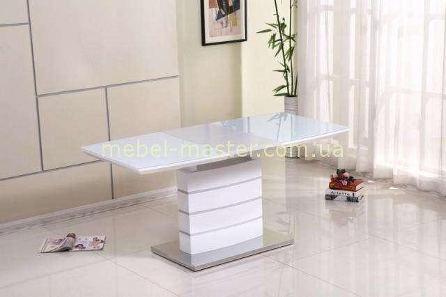 Модный белый обеденный стол Хьюстон (Houston)  DT-9123-1, Китай