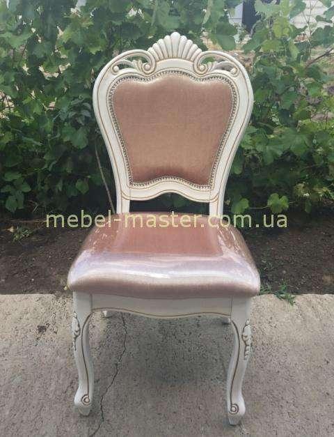 Белый обеденный стул 8041, Даминг