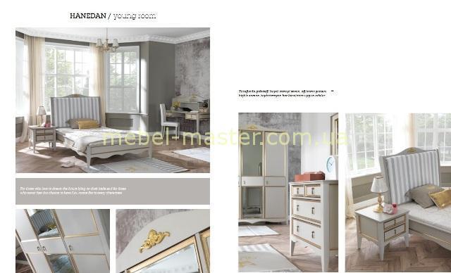 Модели мебели в спальню для детей Династия, Турция