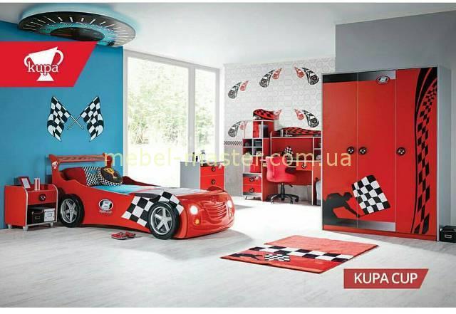 Красная кровать машинка гонка, Турция