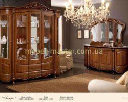Мебель для гостиной Алегро в цвете орех, Слониммебель