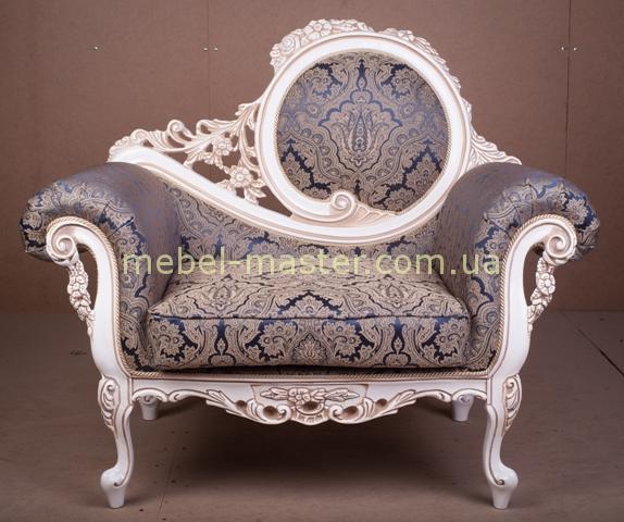 Резное кресло в стиле барокко Жозефина