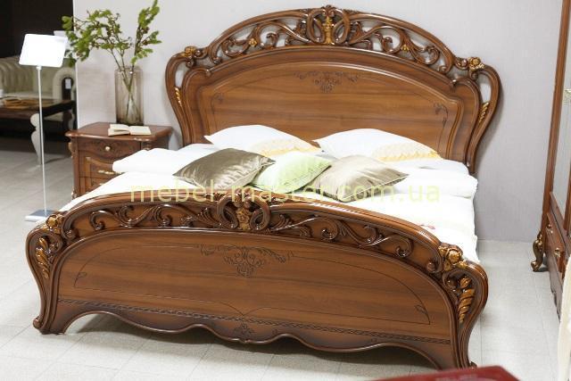Кровать Алегро с резным изголовьем