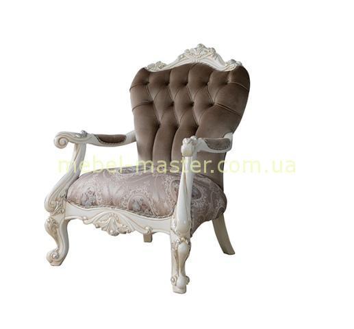 Кресло-трон Лена в стиле венецианское барокко