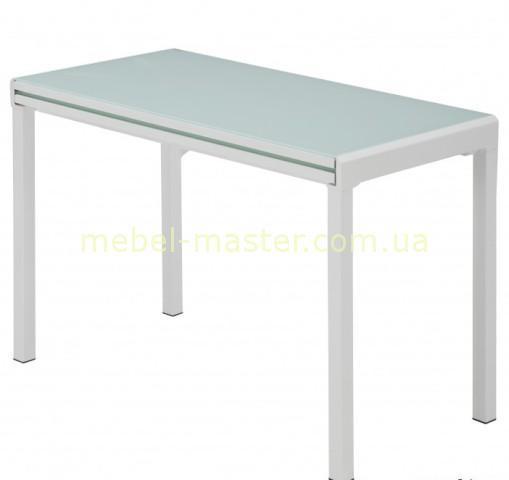 Белый обеденный стол AF3028-5DT со стеклом