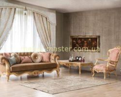 Комплект мягкой мебели в стиле барокко Глори